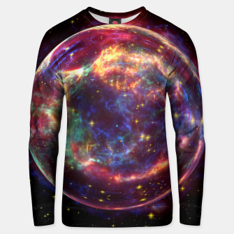 Miniaturka Bubble Galaxy Unisex sweater, Live Heroes