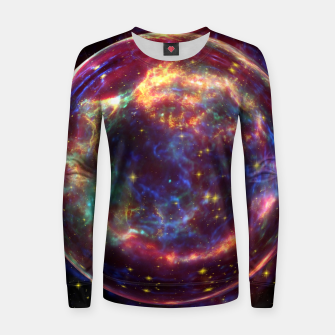 Imagen en miniatura de Bubble Galaxy Women sweater, Live Heroes