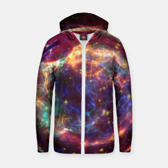 Miniature de image de Bubble Galaxy Zip up hoodie, Live Heroes