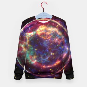 Miniaturka Bubble Galaxy Kid's sweater, Live Heroes