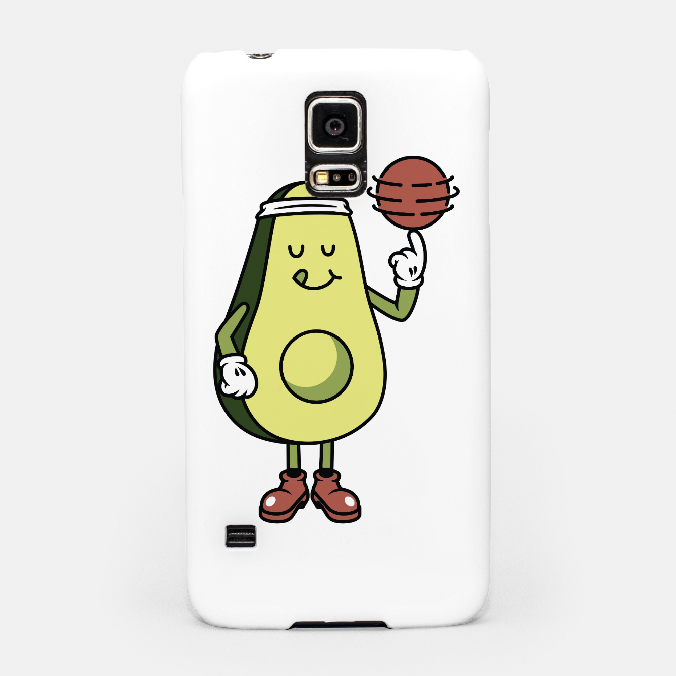 Foto Avocado Playing Ball Samsung Case - Live Heroes