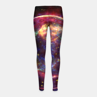 Miniaturka Bubble Galaxy Girl's leggings, Live Heroes