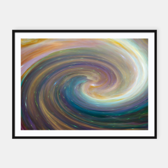 Thumbnail image of Spiral Galaxy Framed poster, Live Heroes