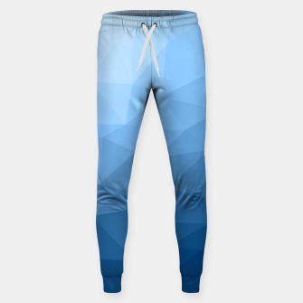 Thumbnail image of Classic Blue geometric mesh ombre Sweatpants, Live Heroes