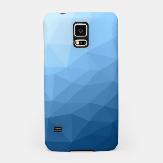 Thumbnail image of Classic Blue geometric mesh ombre Samsung Case, Live Heroes
