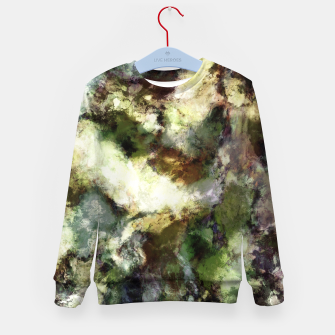 Thumbnail image of Silent erosion Kid's sweater, Live Heroes