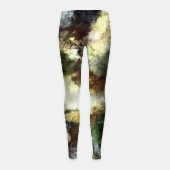 Thumbnail image of Silent erosion Girl's leggings, Live Heroes