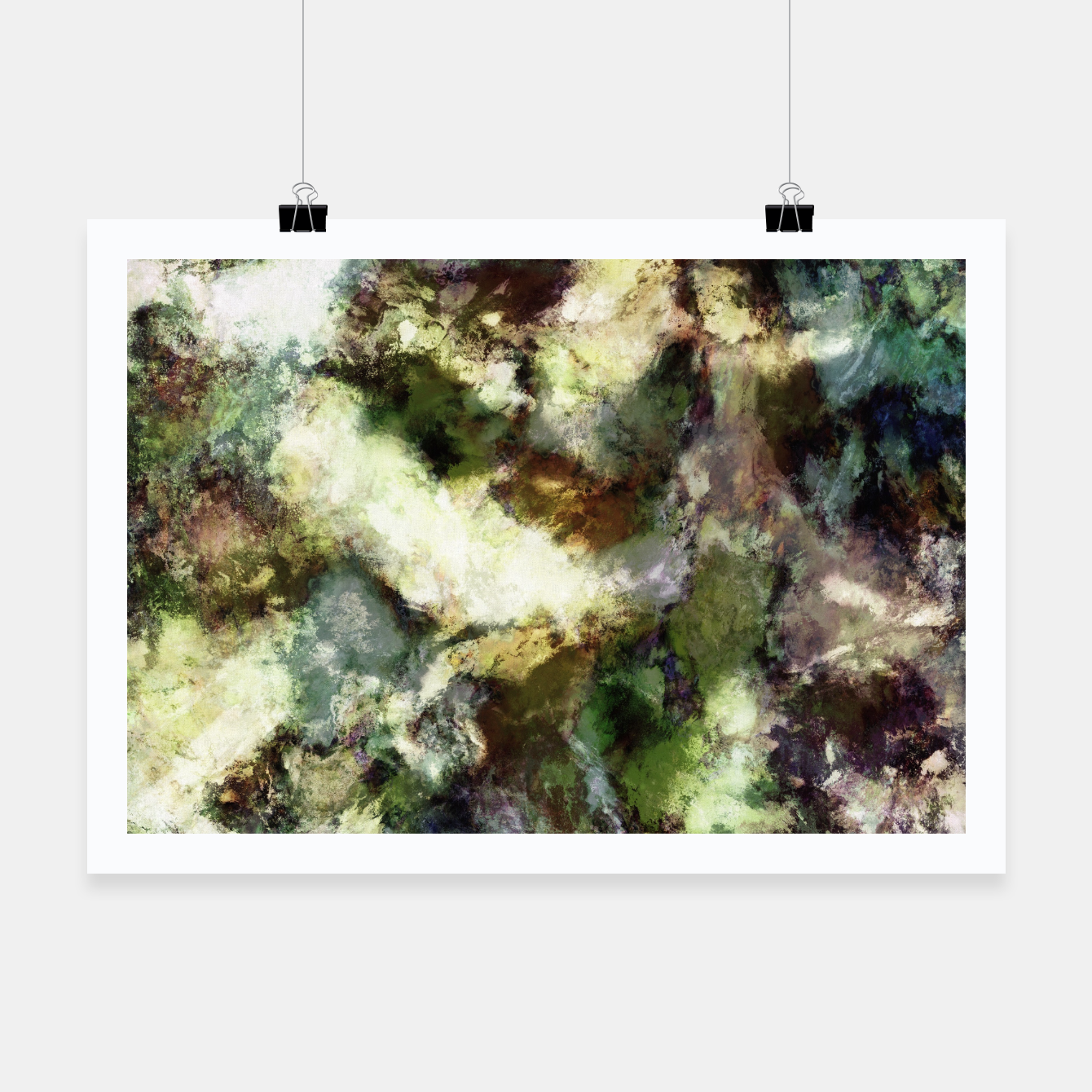 Image of Silent erosion Poster - Live Heroes