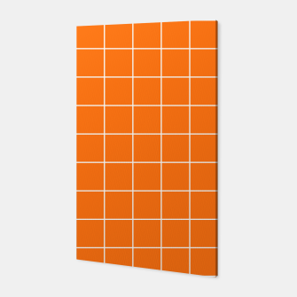 Thumbnail image of Vibrant grid on orange Canvas, Live Heroes