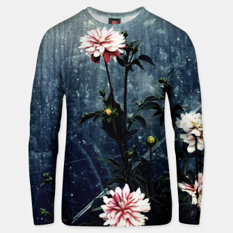 Thumbnail image of Art of flowers Unisex sweater, Live Heroes