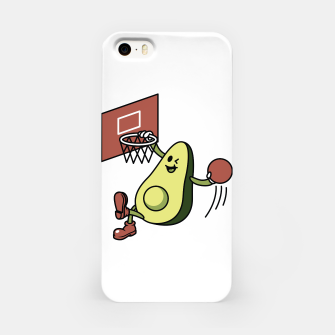 Imagen en miniatura de Avocado Playing Basketball iPhone Case, Live Heroes