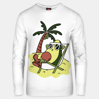 Thumbnail image of Avocado Relax Unisex sweater, Live Heroes