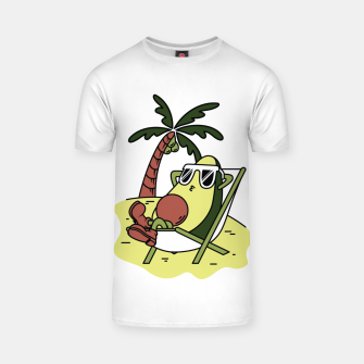 Thumbnail image of Avocado Relax T-shirt, Live Heroes