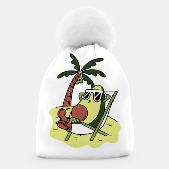 Thumbnail image of Avocado Relax Beanie, Live Heroes