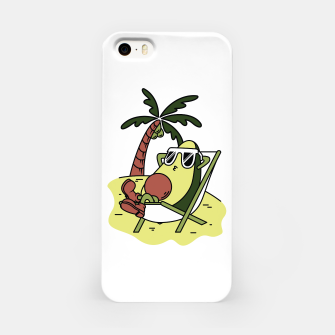 Thumbnail image of Avocado Relax iPhone Case, Live Heroes