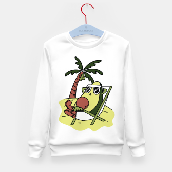 Thumbnail image of Avocado Relax Kid's sweater, Live Heroes