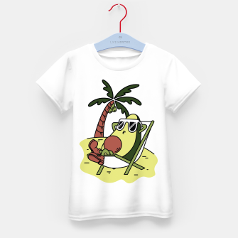 Thumbnail image of Avocado Relax Kid's t-shirt, Live Heroes
