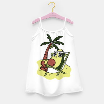Thumbnail image of Avocado Relax Girl's dress, Live Heroes