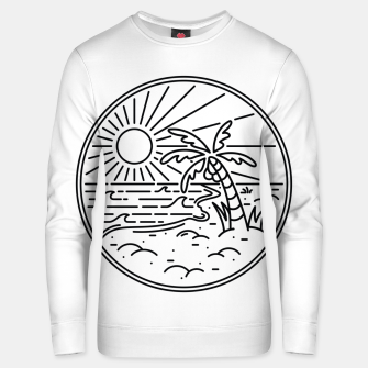 Thumbnail image of Beach Line Unisex sweater, Live Heroes