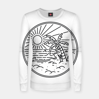 Thumbnail image of Beach Line Women sweater, Live Heroes
