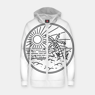 Miniature de image de Beach Line Zip up hoodie, Live Heroes