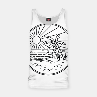 Thumbnail image of Beach Line Tank Top, Live Heroes
