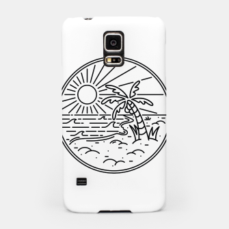 Thumbnail image of Beach Line Samsung Case, Live Heroes