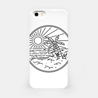 Thumbnail image of Beach Line iPhone Case, Live Heroes