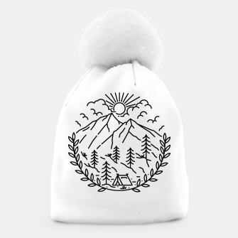 Miniatur Camping Beanie, Live Heroes
