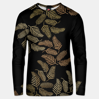 Golden fern Unisex sweater thumbnail image
