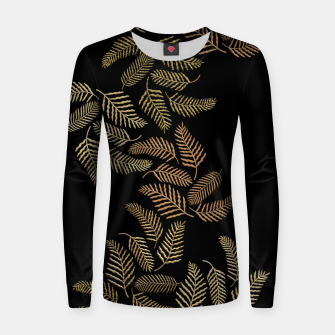 Thumbnail image of Golden fern Women sweater, Live Heroes