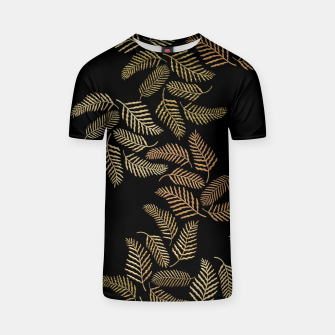Thumbnail image of Golden fern T-shirt, Live Heroes