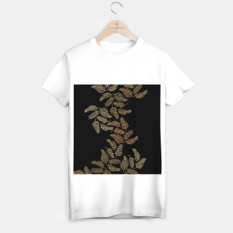 Thumbnail image of Golden fern T-shirt regular, Live Heroes