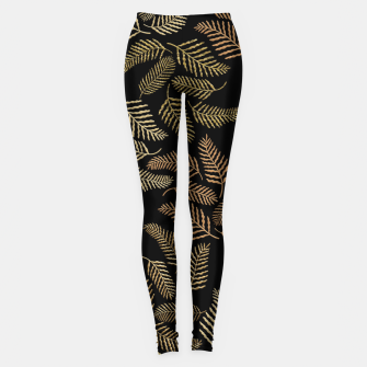 Thumbnail image of Golden fern Leggings, Live Heroes