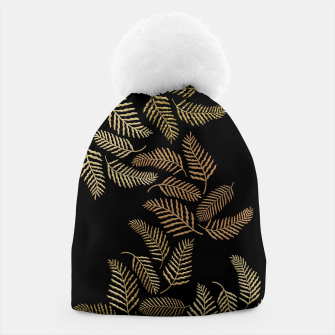 Thumbnail image of Golden fern Beanie, Live Heroes
