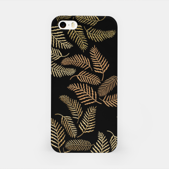 Golden fern iPhone Case thumbnail image
