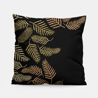 Thumbnail image of Golden fern Pillow, Live Heroes