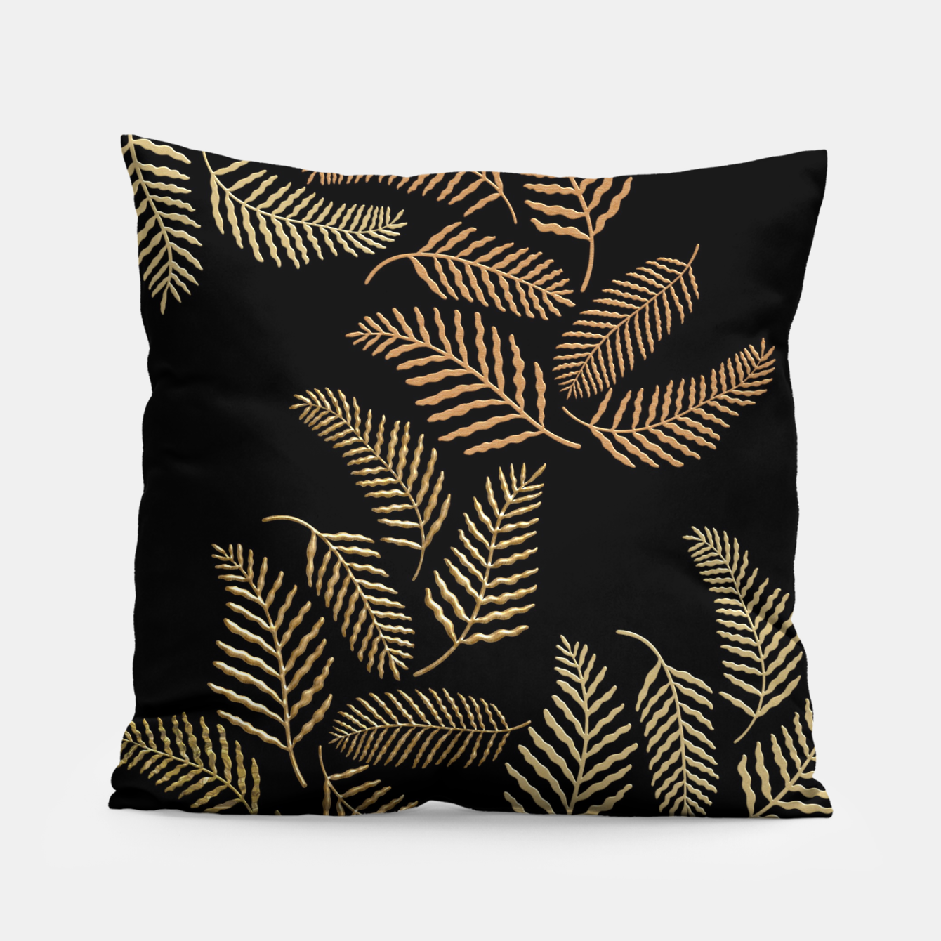 Image of Golden fern Pillow - Live Heroes