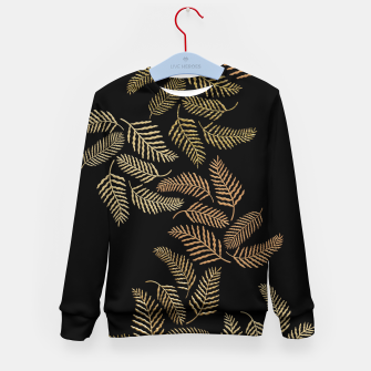 Thumbnail image of Golden fern Kid's sweater, Live Heroes