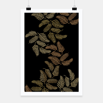 Thumbnail image of Golden fern Poster, Live Heroes
