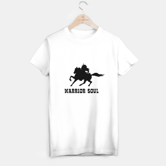 Thumbnail image of Warrior Soul Graphic Silhouette Concept T-shirt regular, Live Heroes