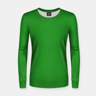 Imagen en miniatura de color forest green Women sweater, Live Heroes
