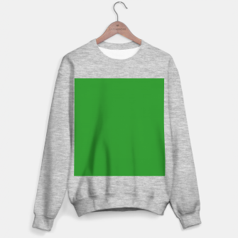 Thumbnail image of color forest green Sweater regular, Live Heroes