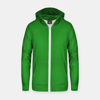 Miniature de image de color forest green Zip up hoodie, Live Heroes