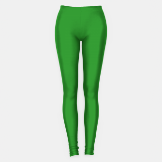 Thumbnail image of color forest green Leggings, Live Heroes