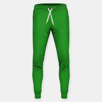 Thumbnail image of color forest green Sweatpants, Live Heroes