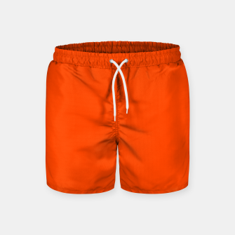 Thumbnail image of color orange red Swim Shorts, Live Heroes