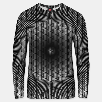 Miniatur black and white illusion 1 Unisex sweater, Live Heroes
