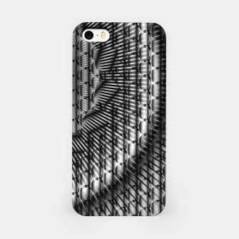 Imagen en miniatura de black and white illusion 1 iPhone Case, Live Heroes