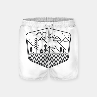 Thumbnail image of Camping Line Swim Shorts, Live Heroes